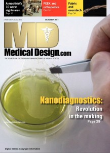 20111001 Medical Design Magazine Cover